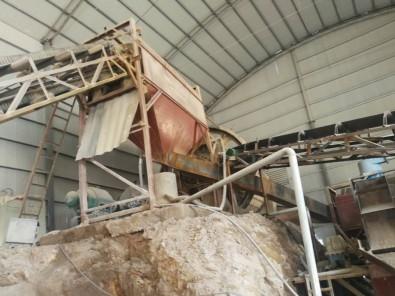 石粉球磨制沙生产线