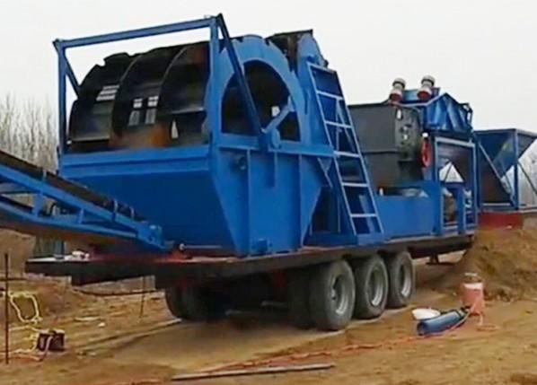 移动破碎制沙机